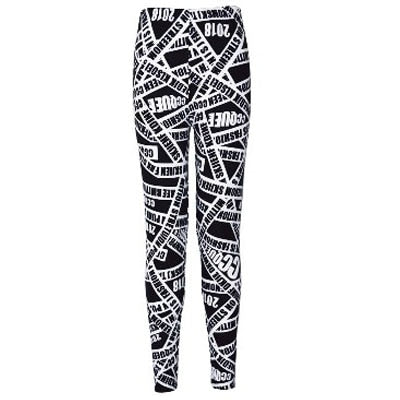 Women Printed Pattern Leggings B06 / One Size - Women Bottoms | MegaMallExpress.com