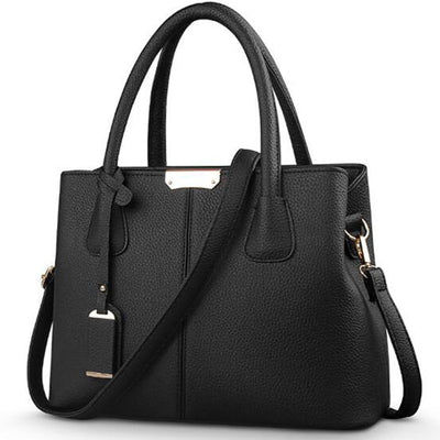 Ladies Large Tote Bags black / 29.5x13x21.5cm - Women Handbags & Purses | MegaMallExpress.com