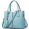 Ladies Large Tote Bags light blue / 29.5x13x21.5cm - Women Handbags & Purses | MegaMallExpress.com