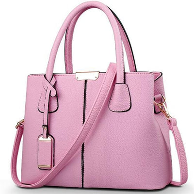 Ladies Large Tote Bags pink / 29.5x13x21.5cm - Women Handbags & Purses | MegaMallExpress.com