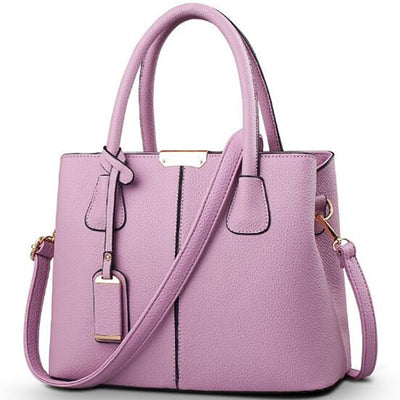 Ladies Large Tote Bags purple / 29.5x13x21.5cm - Women Handbags & Purses | MegaMallExpress.com
