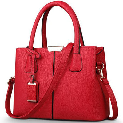 Ladies Large Tote Bags wine red / 29.5x13x21.5cm - Women Handbags & Purses | MegaMallExpress.com