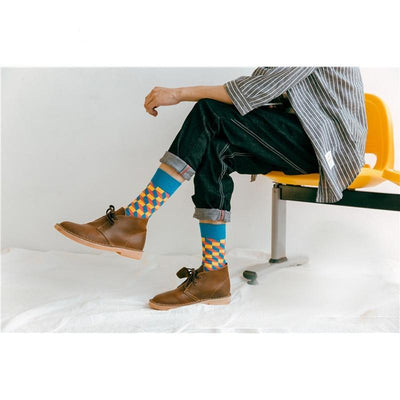 Men Happy Socks  - Men Socks | MegaMallExpress.com