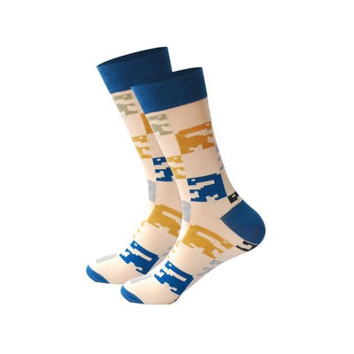Men Happy Socks Multi 2 / One Size - Men Socks | MegaMallExpress.com