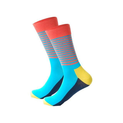 Men Happy Socks Multi 3 / One Size - Men Socks | MegaMallExpress.com