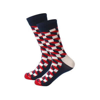 Men Happy Socks Multi 4 / One Size - Men Socks | MegaMallExpress.com