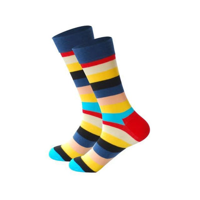 Men Happy Socks Multi 15 / One Size - Men Socks | MegaMallExpress.com