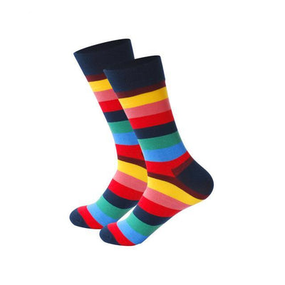 Men Happy Socks Multi 16 / One Size - Men Socks | MegaMallExpress.com