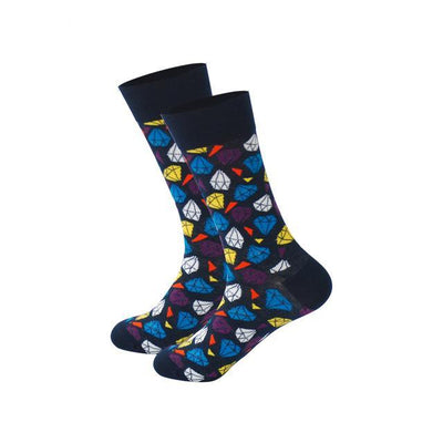 Men Happy Socks Multi 19 / One Size - Men Socks | MegaMallExpress.com