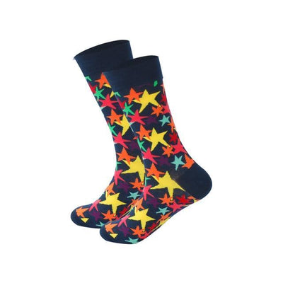 Men Happy Socks Multi 23 / One Size - Men Socks | MegaMallExpress.com