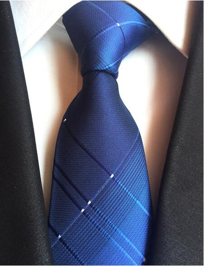 Formal Wear Tie for Men Blue 168 - Men Ties & Accessories | MegaMallExpress.com