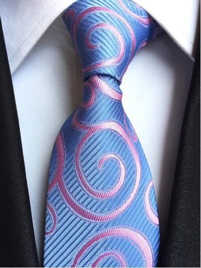 Formal Wear Tie for Men Blue 172 - Men Ties & Accessories | MegaMallExpress.com