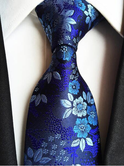 Formal Wear Tie for Men Blue 179 - Men Ties & Accessories | MegaMallExpress.com
