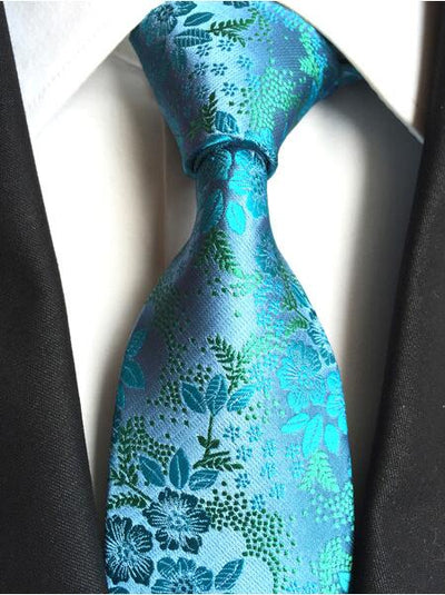 Formal Wear Tie for Men Turquoise 180 - Men Ties & Accessories | MegaMallExpress.com