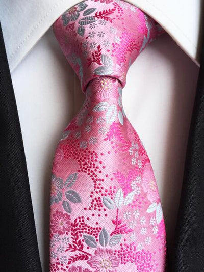 Formal Wear Tie for Men Pink 182 - Men Ties & Accessories | MegaMallExpress.com