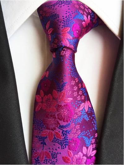 Formal Wear Tie for Men Red 183 - Men Ties & Accessories | MegaMallExpress.com