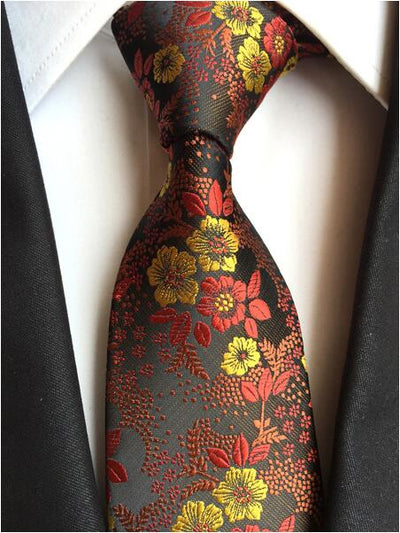 Formal Wear Tie for Men Brown 184 - Men Ties & Accessories | MegaMallExpress.com