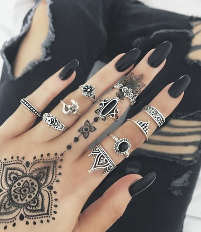 Boho Ring Set Type 11 - Casual Rings | MegaMallExpress.com