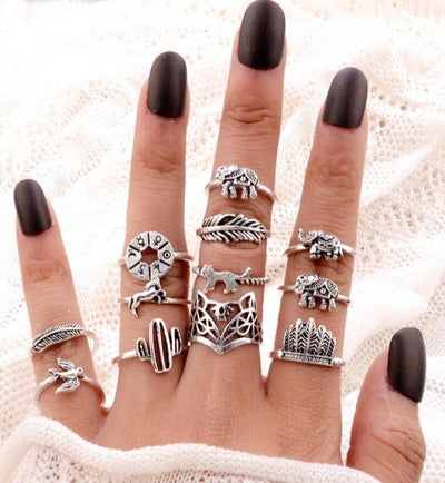 Boho Ring Set Type 12 - Casual Rings | MegaMallExpress.com