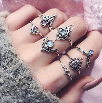 Boho Ring Set Type 13 - Casual Rings | MegaMallExpress.com