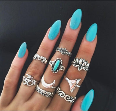 Boho Ring Set Type 14 - Casual Rings | MegaMallExpress.com