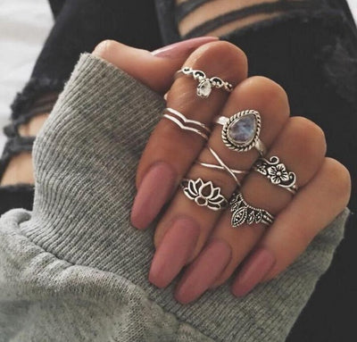 Boho Ring Set Type 15 - Casual Rings | MegaMallExpress.com