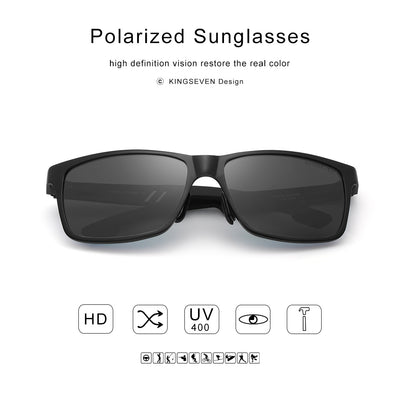 Men's Polarized Mirror Sunglasses  - Men Sunglasses | MegaMallExpress.com