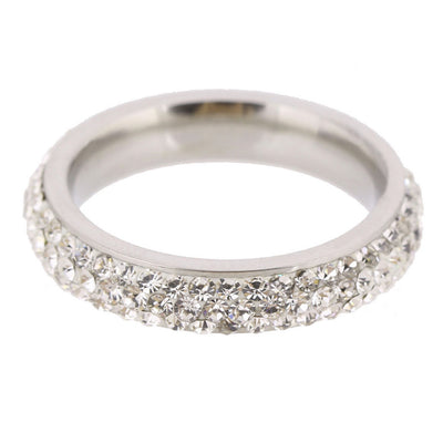 Clear Crystal Wedding Ring  - Wedding & Engagement | MegaMallExpress.com