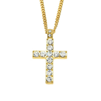 Large Cross Pendant Gold - Necklaces & Pendants | MegaMallExpress.com