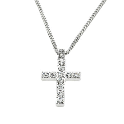 Large Cross Pendant Silver - Necklaces & Pendants | MegaMallExpress.com