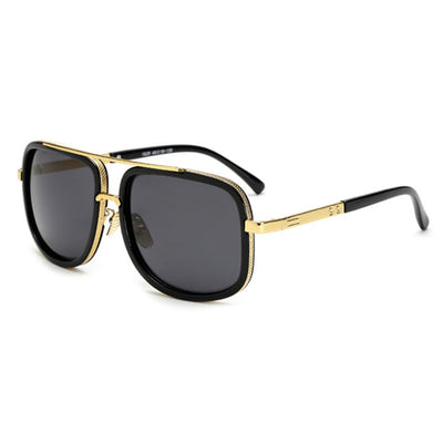Oversized Men Sunglasses Black/Gray - Men Sunglasses | MegaMallExpress.com