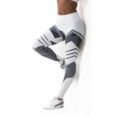 Women Hip Push Up Leggings White / XS - Women Bottoms | MegaMallExpress.com