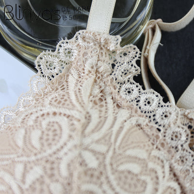 Sexy Lace Wire Free Bra  - Women Intimates | MegaMallExpress.com