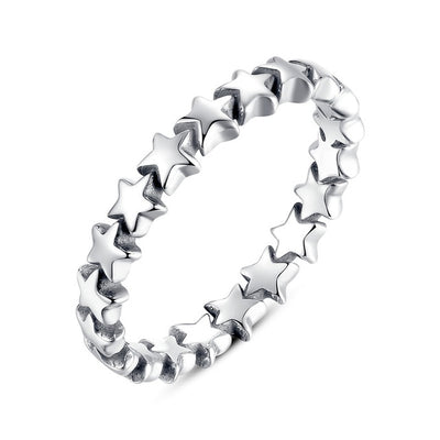 Stackable Rings 8 / Silver / FB7151 - Formal Rings | MegaMallExpress.com