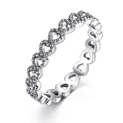 Stackable Rings 8 / Silver / FB7218 - Formal Rings | MegaMallExpress.com