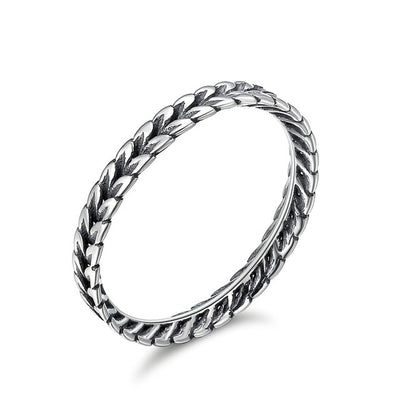 Stackable Rings 8 / Silver / FIR139 - Formal Rings | MegaMallExpress.com