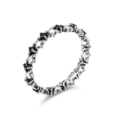 Stackable Rings 8 / Silver / FIR142 - Formal Rings | MegaMallExpress.com