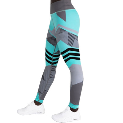 Women Hip Push Up Leggings Blue / XS - Women Bottoms | MegaMallExpress.com