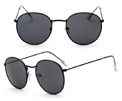 Women Classic Round Sunglasses Black - Women Sunglasses | MegaMallExpress.com