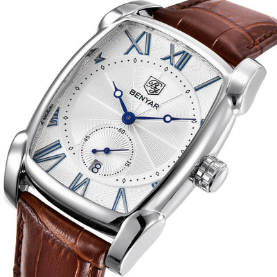 Men's Rectangular Watch  - Men Watches | MegaMallExpress.com
