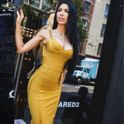 Women Sleeveless Bandage Dress  - Women Dresses | MegaMallExpress.com