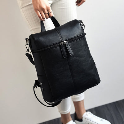 Teenage Fashion School Backpack black - Everyday Backpacks | MegaMallExpress.com