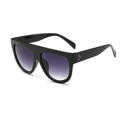 Women Over Sized Flat Top Sunglasses C01 - Women Sunglasses | MegaMallExpress.com