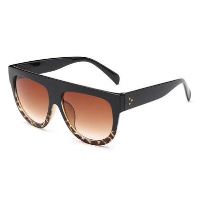 Women Over Sized Flat Top Sunglasses C05 - Women Sunglasses | MegaMallExpress.com