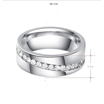 Stainless Steel Fashion Ring  - Formal Rings | MegaMallExpress.com