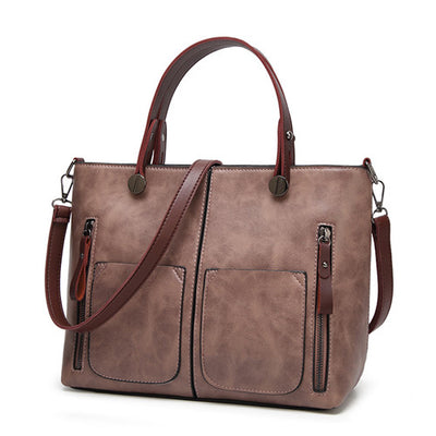 Women Multi Purpose Shoulder Bag Light pink / Large - Women Handbags & Purses | MegaMallExpress.com