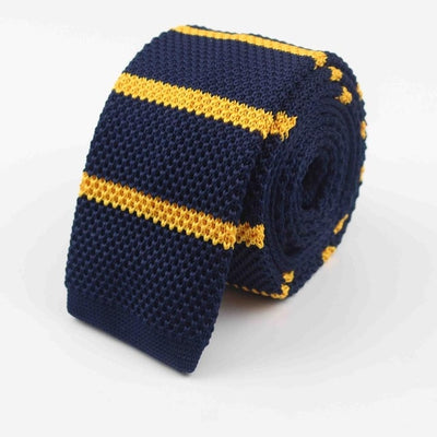 Knitted Ties for Men Blue 22 - Men Ties & Accessories | MegaMallExpress.com