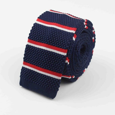 Knitted Ties for Men Blue 26 - Men Ties & Accessories | MegaMallExpress.com