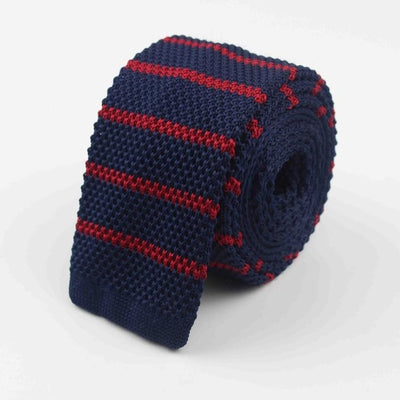 Knitted Ties for Men Red 30 - Men Ties & Accessories | MegaMallExpress.com
