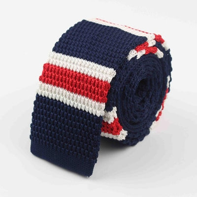 Knitted Ties for Men Red 32 - Men Ties & Accessories | MegaMallExpress.com